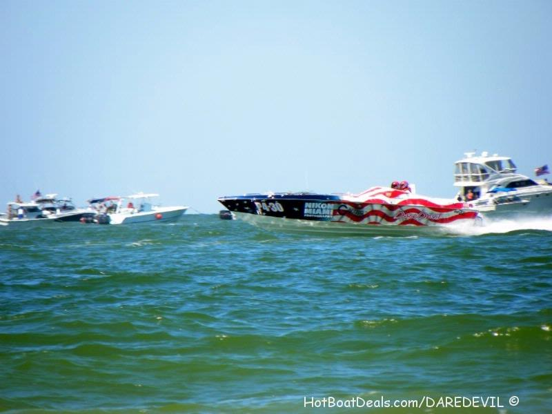 Here is the Daredevil race boat!