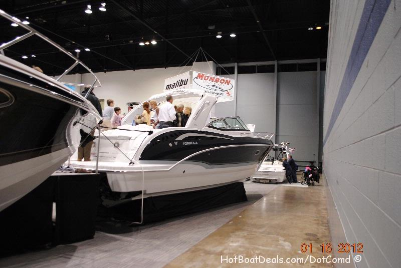 I went back to the 2012 Chicago Boat without my kids and had a nice leisurely day walking around the show, meeting people and taking some great pictures of the new boat models.  Really liked the 48 Cantius from Cruisers Inc.