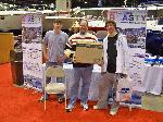 Winner of the BOASTY Raffle at the Chicago Boat Show