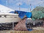 bow of bad tarp job