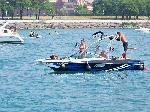 Out with Friends Boating in Chicago