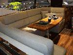 Riviera 4400 Sport yacht Salon Table / Couch