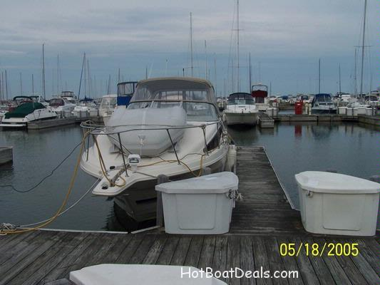 Here is a short run to Kenosha and back to North Point Marina.  We were running near one of our dockmates on this trip.  This is always a great thing to do with other boaters when going places.   Take your camera and give it to a fellow boater, and get his/hers as well.  It's a great thing to have pics of your own boat running wide open on the water.