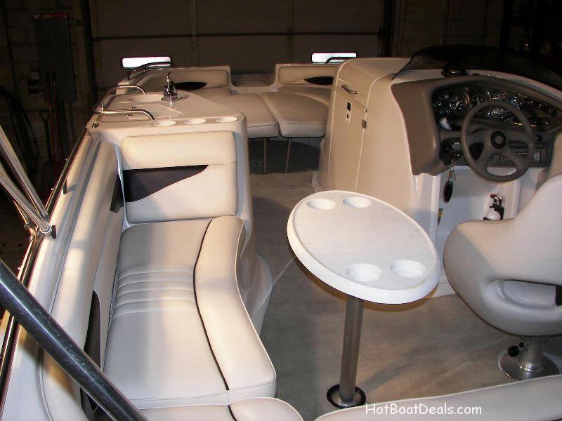 2003 Crownline Deck Boat in good condition.