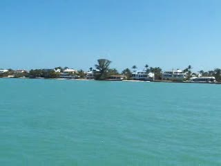 Just Leaving Sanibel Marina and coming up on plane from:DotComd