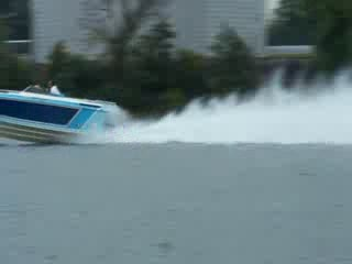 Add Comment To: Old GO Fast boat speeding by on the Illinois River