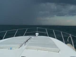 Driving around a storm on Lake Michigan from:DotComd