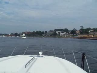 Just after we arrived in Grand Haven for Coast Guard Festival from:DotComd