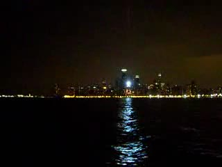 Chicago Skyline at night from:DotComd