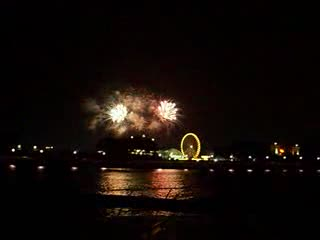 Navy Pier Fireworks show from:DotComd