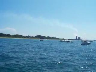 Michigan City Superboat Races Raw Footage 5 from:DotComd