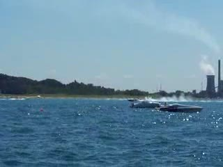 Michigan City Superboat Races Raw Footage 4 from:DotComd