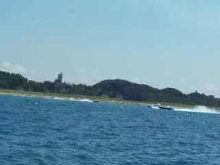 Michigan City Superboat Races Raw Footage 6 from:DotComd