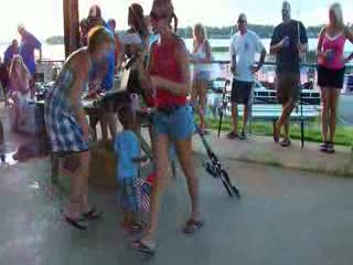 Give away for a free boat rental at walden marina! from:DotComd