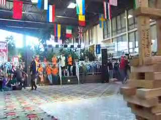 Sandy from TRN Sings the National Anthem at the 2012 IRBBA Winter Games from:DotComd