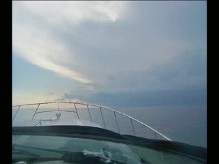 Big Storm on our way home from the 2011 Michigan City Superboat Races from:DotComd